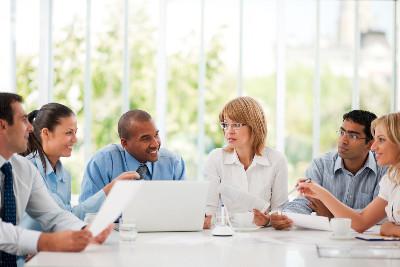 Diverse Work Meeting