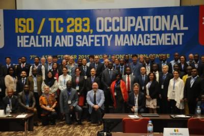 ISO Technical Committee 283 meeting in Kigali Rwanda