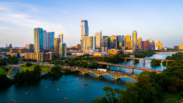 Skyline in Austin, Texas