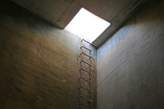 Confined space and ladder