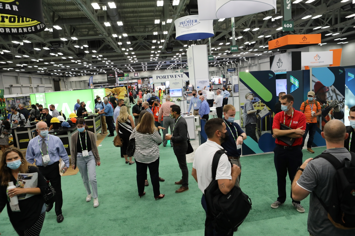 Expo at Safety 2021 in Austin