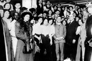 Triangle Shirtwaist Factory workers and visitors