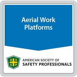 ANSI / SAIA A92 Aerial Work Platform Standards | ASSP